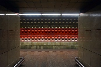 The subway stations are quite artsy.