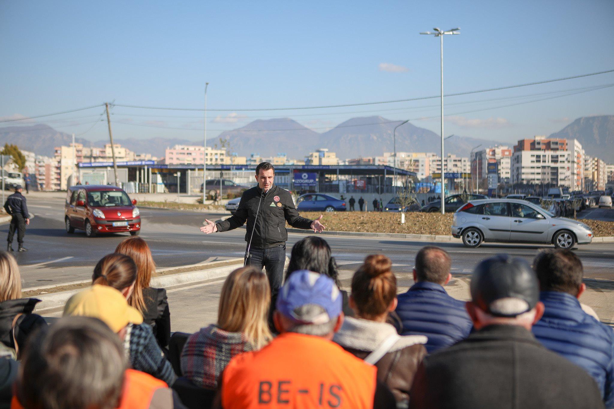 """Hapet bulevardi """"Migjeni"""" në Kashar. lidh Unazën e Re me Yzberishin. përfitojnë 80 mijë banorë - ATSH"""