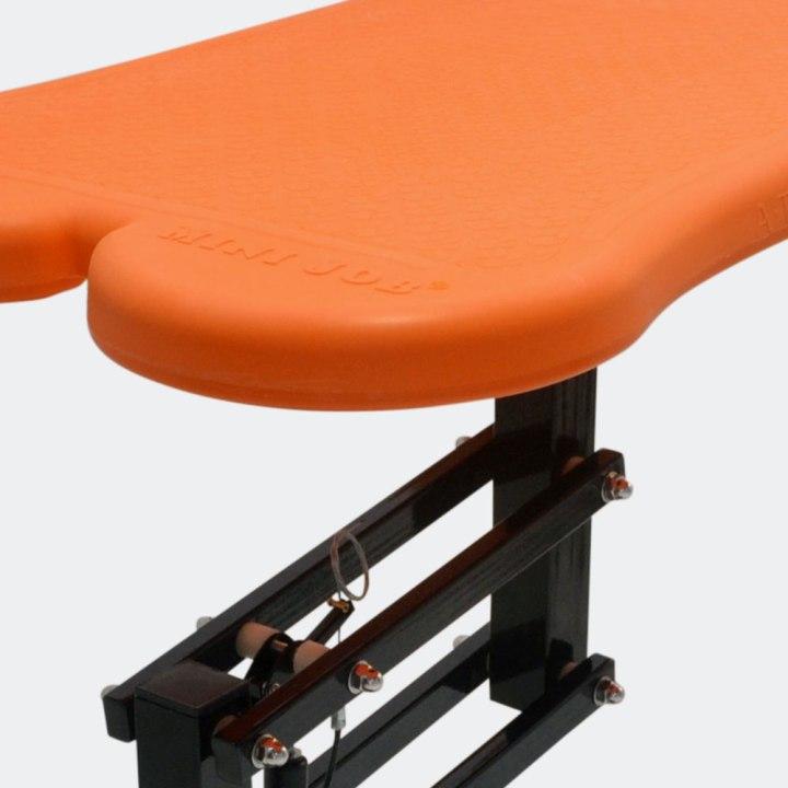 mesa-de-tosa-pneumatica-laranja-detalhes