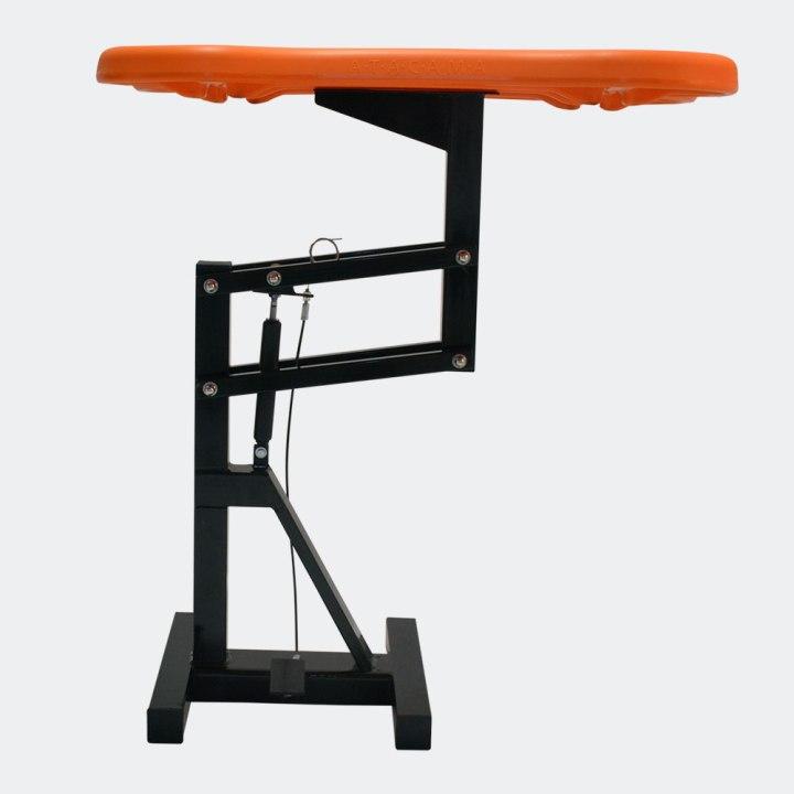 mesa-de-tosa-pneumatica-laranja-estrutura