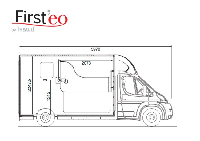 New Firsteo 3 Horsebox for Sale