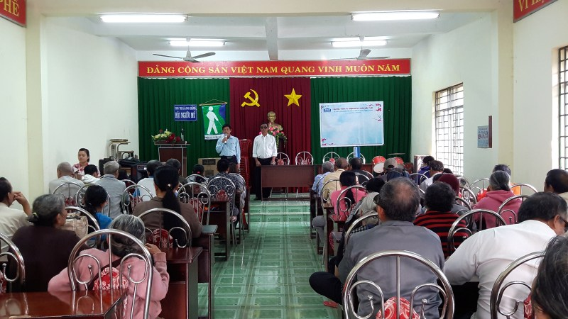 ATAD presented Tet gifts to the Blind Association of Long Khanh Town 2