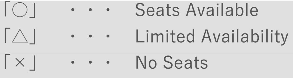 Seat icons