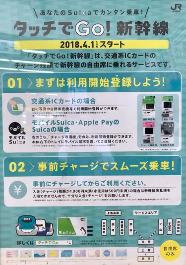 Register your Apple Pay Suica for Touch and Go Shinkansen travel