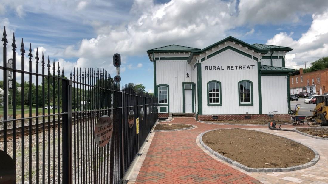Rural Retreat Railroad Station July 2018