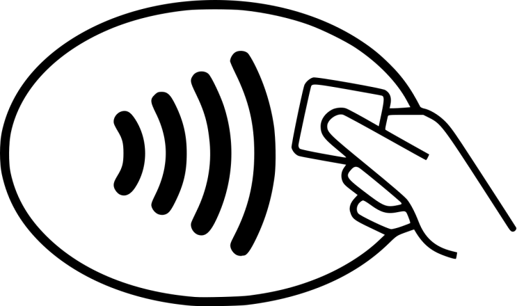 EMV contactless acceptance mark