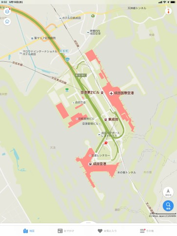 Yahoo Japan Maps Narita Airport