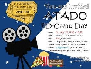 Invitation to Atado's First-ever PD-Camp Day