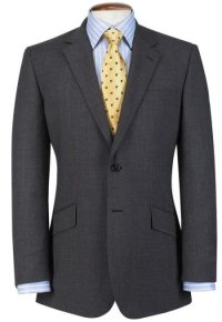 Men's Charcoal Gray Suit Article - How to wear a custom ...