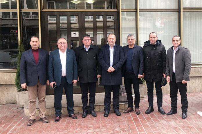 Başkan Salman HÖH Genel Merkezini ziyaret etti..