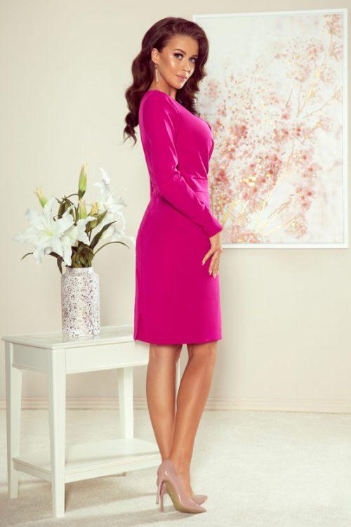 mia-sukienka-z-kopetrowym dekoltem atalantastyle 2