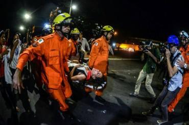 Violência deixou manifestantes em estado de choque - Fotos: brasilia-repressao:de Janine Morais, Chriztian Braga e Lula Marques