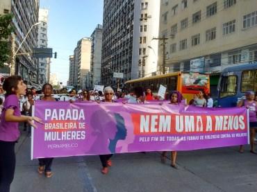 Mulheres pelos direitos - Fotos: SEsteliam