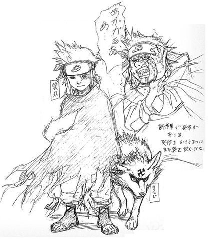 El Creador De Naruto Revela El Diseño Descartado De Gaara Quien Iba