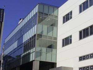 新市庁舎ガラス