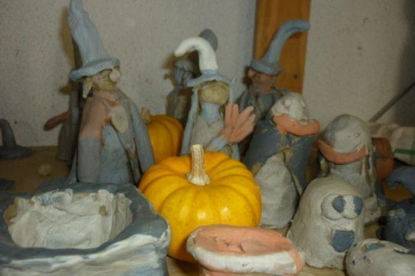 stage enfants poterie citrouille-poterie - Atap Aubagne