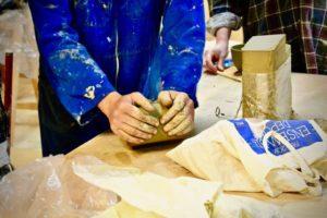 céramique bloc de terre poterie - Atap Aubagne