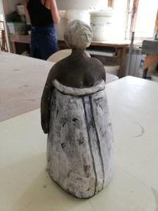 personnage cuisson raku poterie-atelier atap