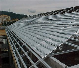 dimensi truss baja ringan pasang rangka atap galvalum   ...
