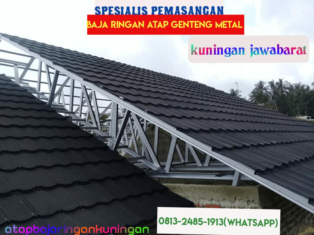 biaya baja ringan dan genteng harga pasang atap di kuningan jawabarat spesialis