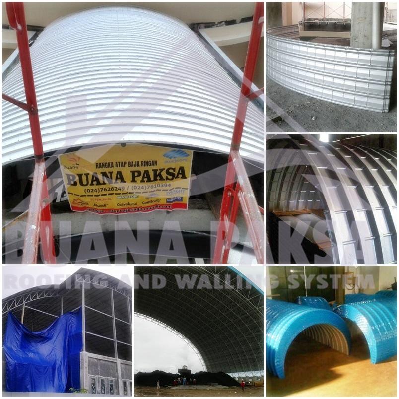 distributor baja ringan bekasi utara penutup atap galvalum zincalum model lengkung atau ...