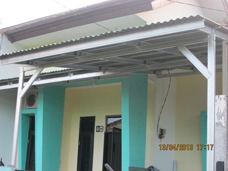 harga baja ringan merk trust canopy minimalis atap go green | atapgogreenasli