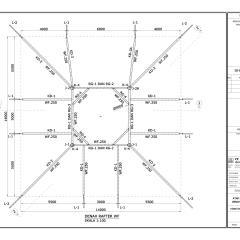 Jarak Kuda Baja Ringan Untuk Spandek Desain Konstruksi Atap Wf | Menara Tower Masjid