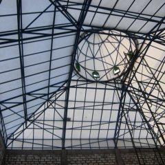 Baja Ringan Lengkung Desain Atap Kubah Masjid Ponpes Al Fitroh Ujung Pangka Gresik Pt