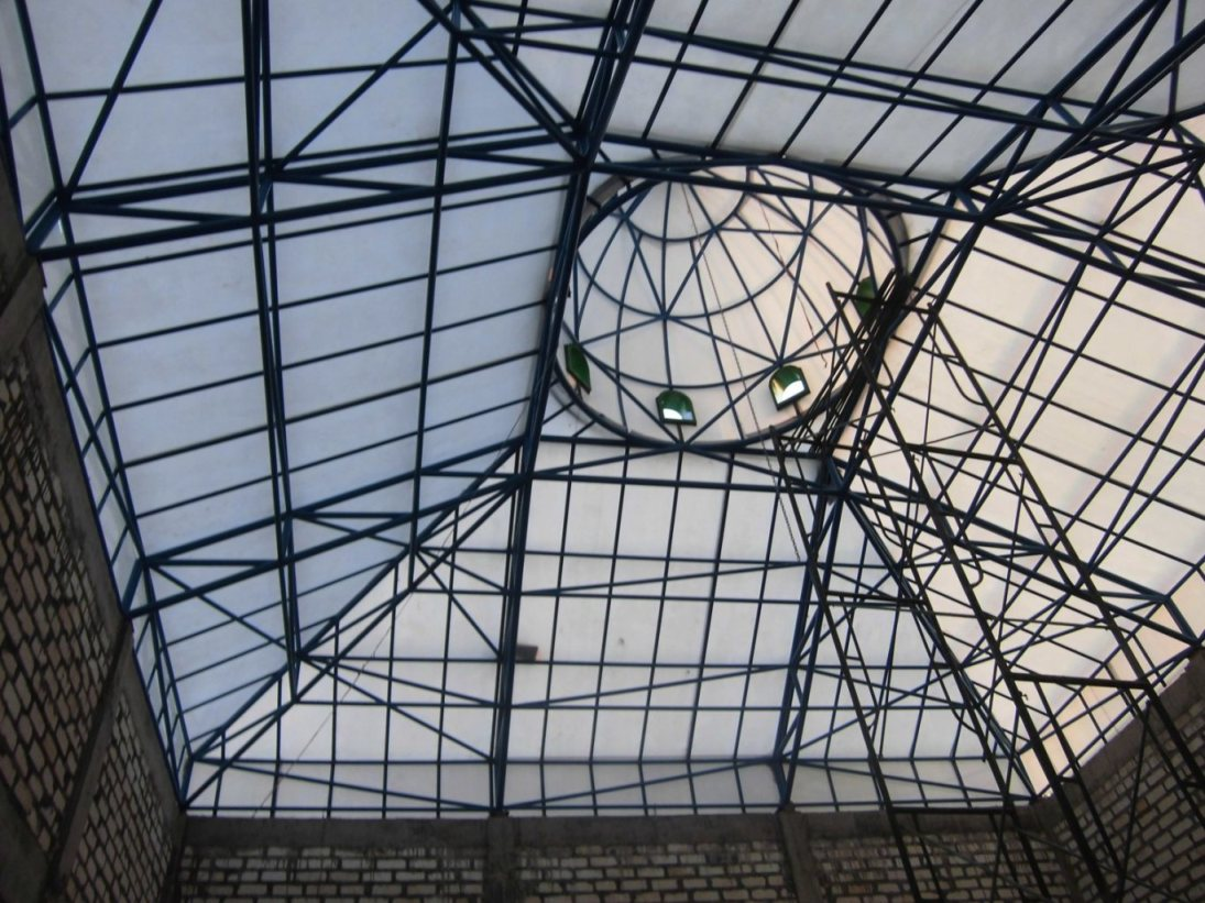gambar rangka atap baja ringan limasan konstruksi berat model kremona