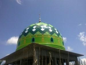 harga, atap, masjid, konstruksi, rangka, anti bocor, murah, pengrajin, panel, ornamen