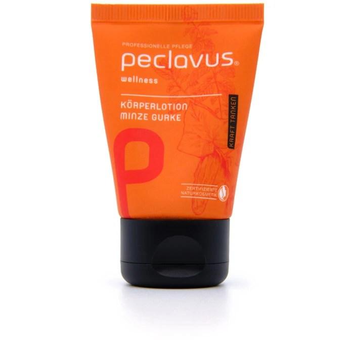 """peclavus Wellness Körperlotion """"Minze Gurke"""" 30ml"""