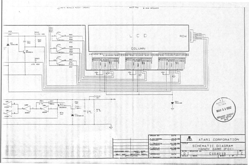 medium resolution of atariage atari lynx schematics lynx system lynx circuit diagram