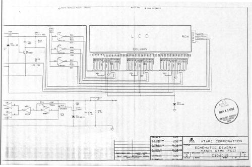 small resolution of atariage atari lynx schematics lynx system lynx circuit diagram