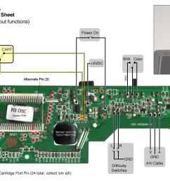 atari 2 flashback mod question wiring the cartridge port [ 1588 x 855 Pixel ]