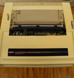 coleco adam printer with built in power supply  [ 4000 x 3000 Pixel ]