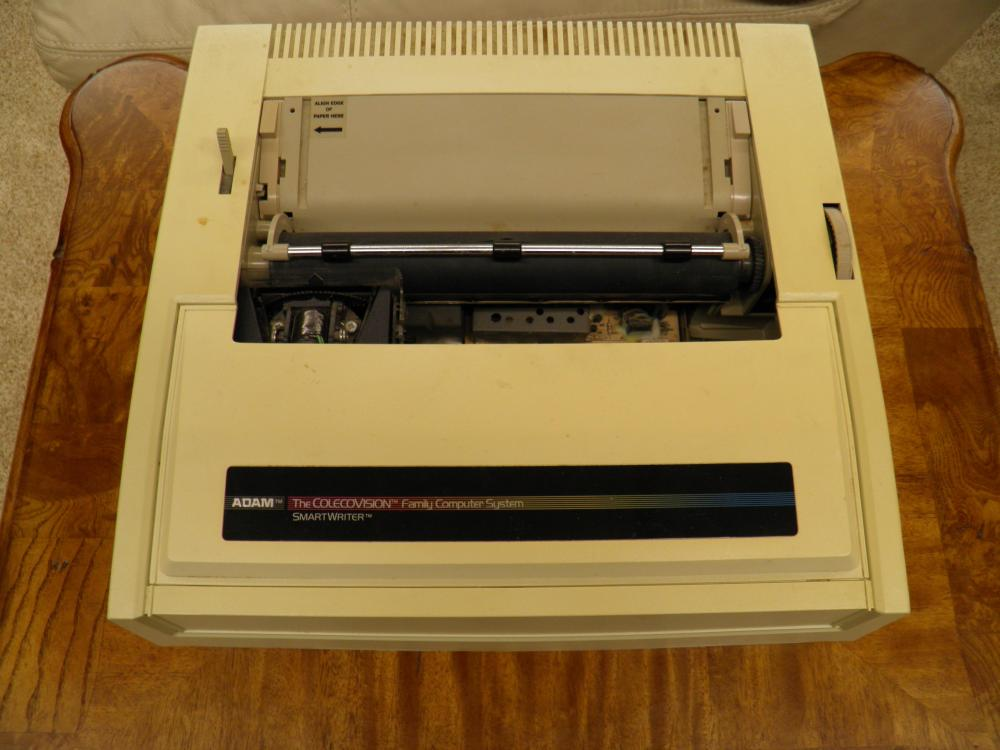 medium resolution of coleco adam printer with built in power supply