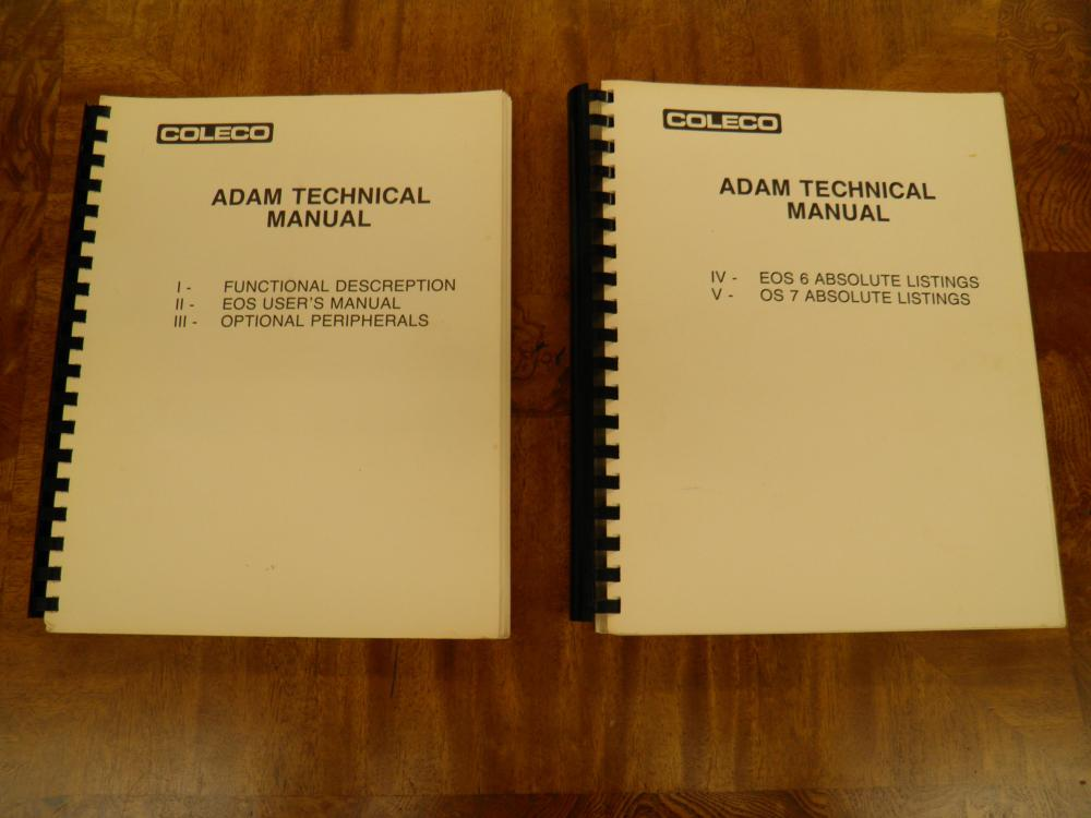 medium resolution of picture of coleco technical manuals jpg