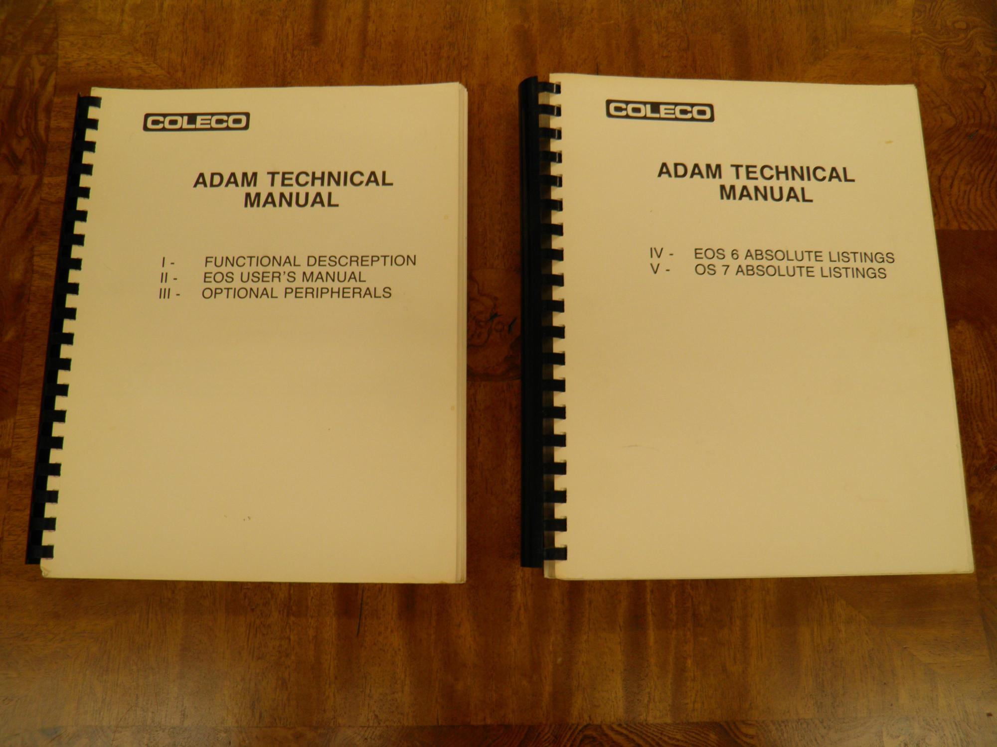 hight resolution of picture of coleco technical manuals jpg