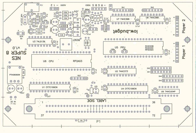 Wiring Schematic For Nes : 24 Wiring Diagram Images