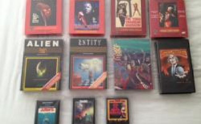 My Collection Of Atari 2600 Games Based On Horror Movies