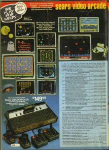 Sears Catalog Step In Time Rare Video Games - Year of Clean Water