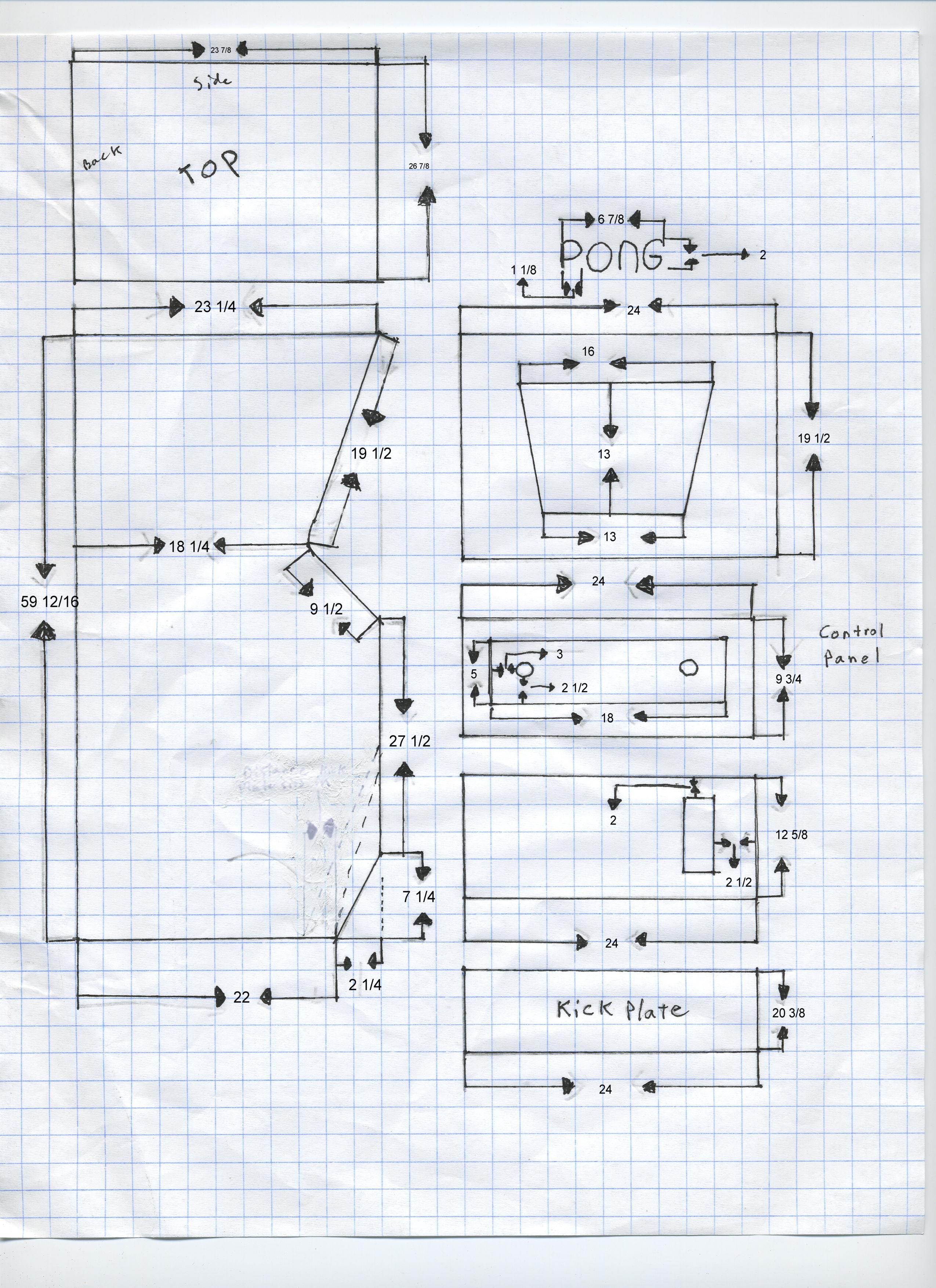 Arcade cabinet Plans Download