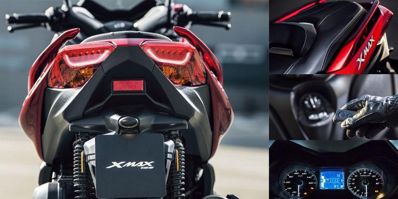 Yamaha Akan Membuat XMAX 155 Sebagai Varian High End MAXI