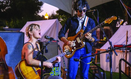 Tent City After Dark Concert Sets Tone