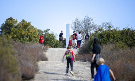 Mystery Obelisk Appears on Pine Mountain