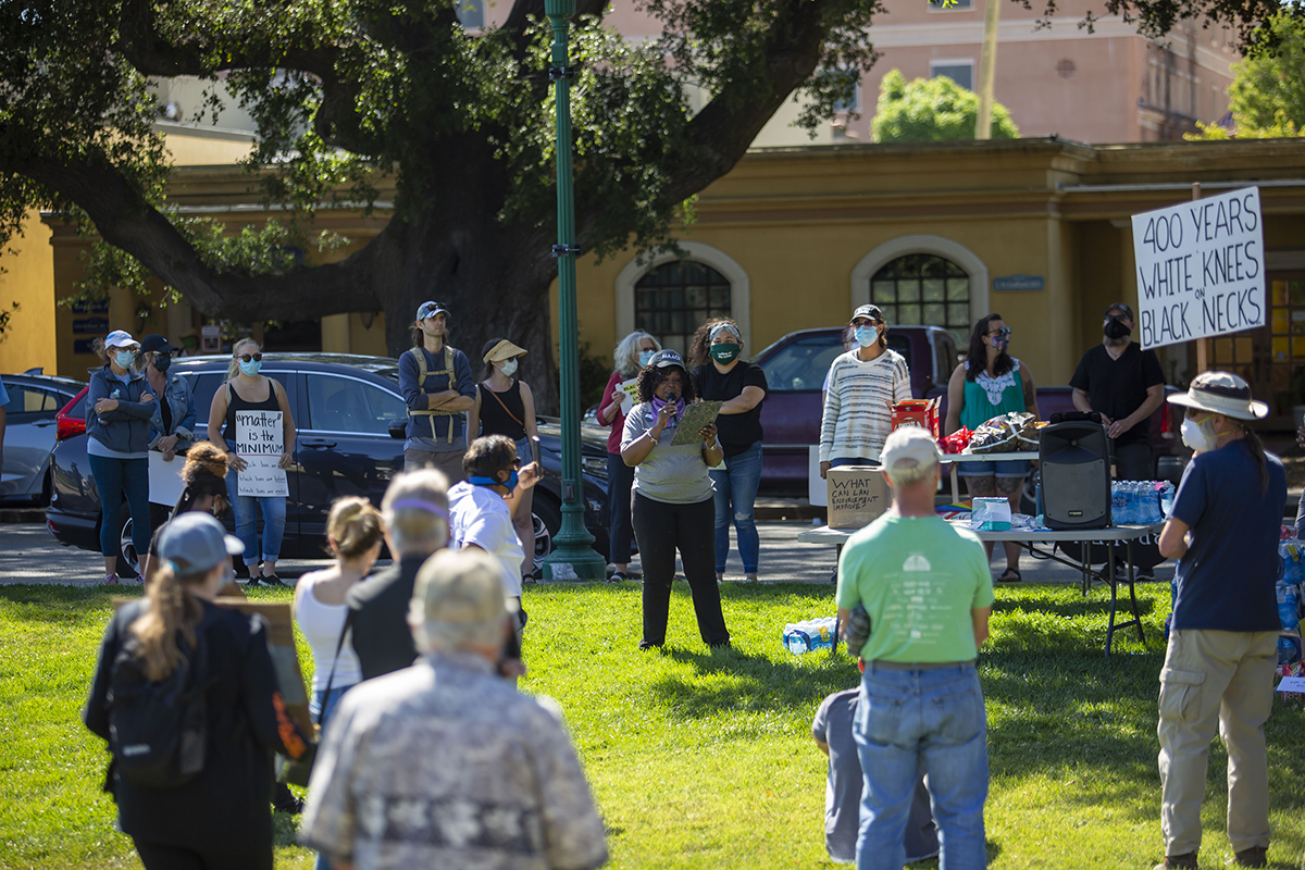 2020 Downtown Atascadero Protest NAACP 002