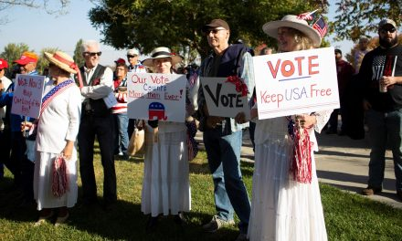 Community Rallies in Paso before 'MAGA Drag the Interstate'