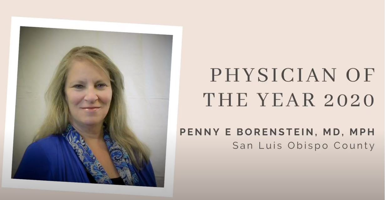 Dr. Borenstein Named San Luis Obispo County Physician of the Year