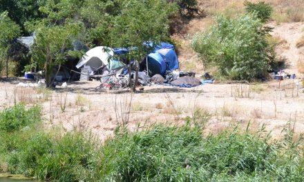 Riverbed Encampment Threatens Closure of De Anza Trail