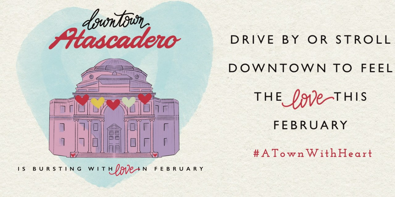 Downtown Atascadero Spreads Love in February